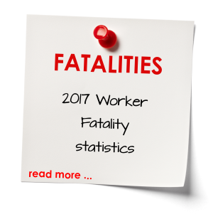 2017 fatalities in the workplace