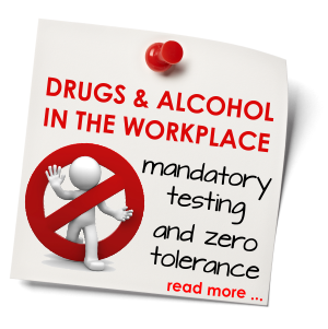 a discussion about the legality of drug testing in the workplace